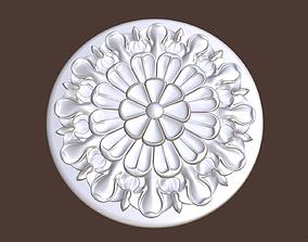 3D print model Rosette 1 decor