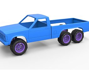 Diecast shell and wheels Chevrolet S10 3D print model 5