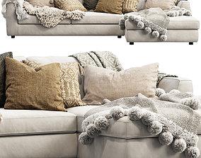 EQ3 Cello Sectional Sofa 3D model