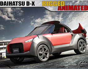 3D model Daihatsu D-X concept 1