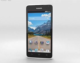 Huawei Ascend Y530 White 3D model