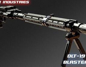 DLT-19 heavy blaster rifle 3D printable model