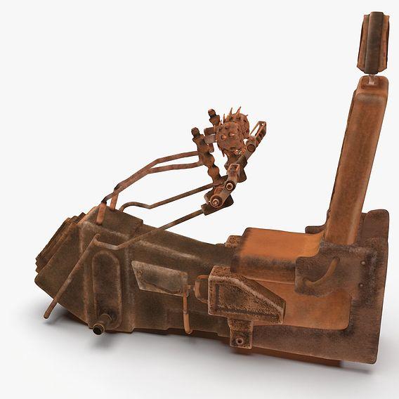 Scifi cockpit seat