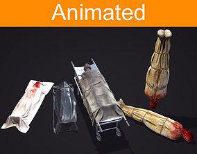 3D asset Horror Props pack