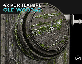 3D Old Wood 4K PBR material