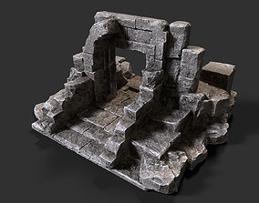 3D asset Ancient Gate
