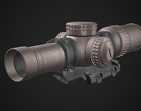 3D asset Vortex Razor HD Gen III Scope Game Ready