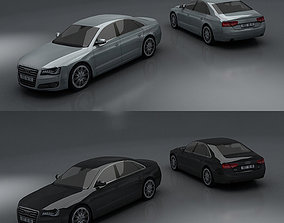 3D asset Audi A8