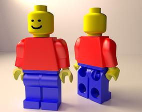 Lego Minifigure 3D