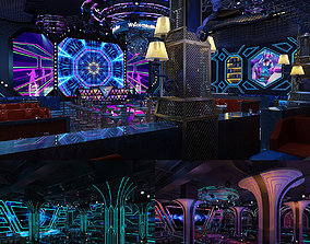 3D Collection of Lounge Night Club