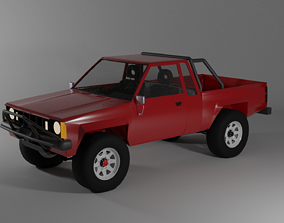 Offroad Truck 3D model game-ready