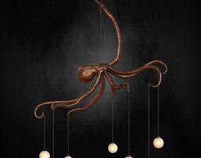 3D model Octopus chandelier
