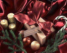 gift 3D model Christmas Gift