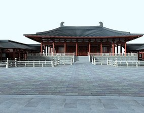 Chinese Style Architecture structure architectural 3D