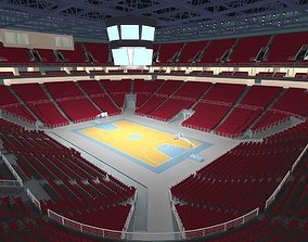 Basketball Arena emulation 3D
