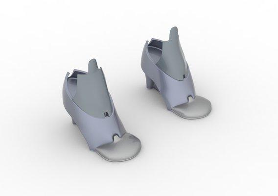 Female Robotics Shoes