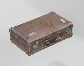 3D model Suitcase Medium Vintage photogrammetry scan PBR 2