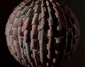 Ceramic Roof Tiles 3D model low-poly
