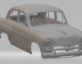 Moskvitch 407 Printable Body car