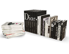 3D Fashion Books