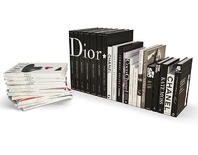 3D Fashion Books