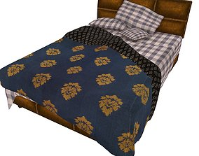 3D model game-ready Bedcloth 72