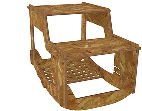 Table for kids for CNC router or laser 3D printable model
