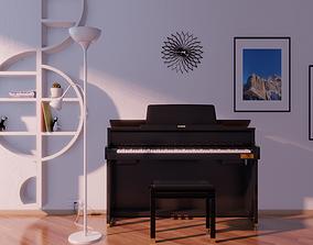 3D model Casio Celviano GP500