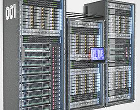 server rack 3D