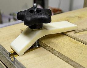 Reversable Hold-Down for T-Slot Tables 3D print model