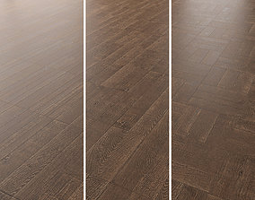 3D Parquet Oak Rotec Wildwood set 3