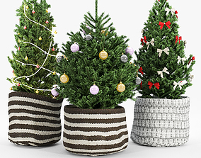 Christmas tree 2020 3D model