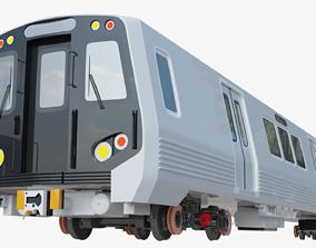 u-bahn Washington metro 3D model
