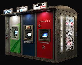 Atm bankomats 3D asset
