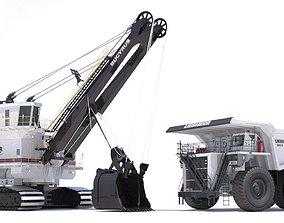 3D model Mining Machines 4