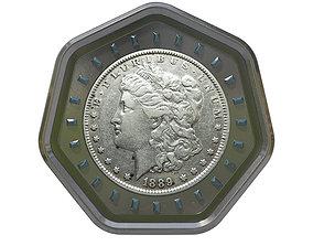 Digital Currency Coin - 600 BTC 3D
