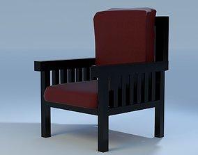 3D model Chair Zona