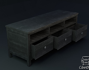 Hemnes TV-Table furniture 3D asset