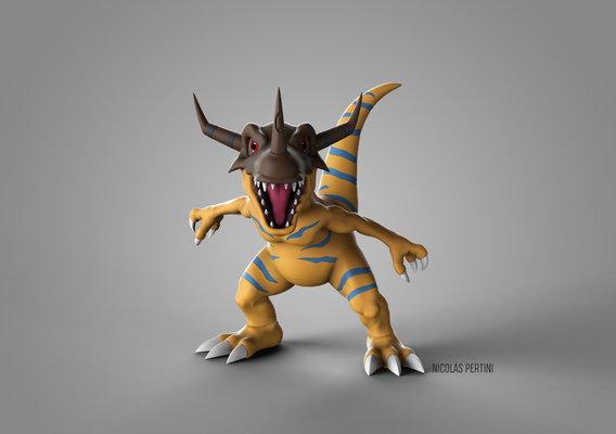 Digimon - Greymon