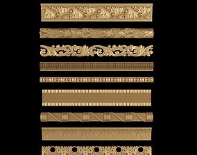Decorative Moldings Set 03 3D printable model
