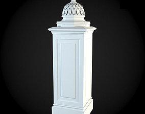 3D Pedestals house