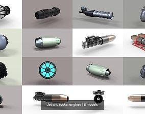 3D Jet and rocket engines