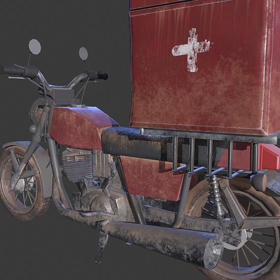 Blood Delivery Bike