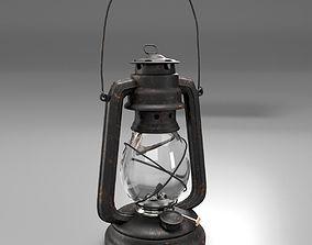 Oil Lamp 3D model PBR