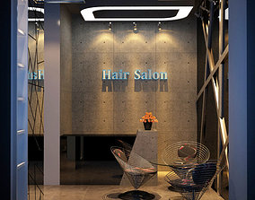 3D model Hair Salon
