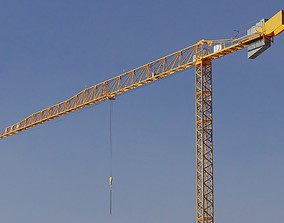 3D model Tower Crane - Hammerhead Construction Crane