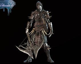 Skeleton Crossbowman 3D asset