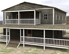 3D model realtime Ranch House