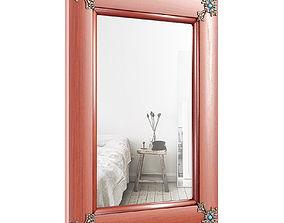 Concho Cross Rustic Accent Mirror MYAM1009 3D