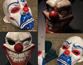 3D Clown Mask Special Collection Halloween Helmet Costume